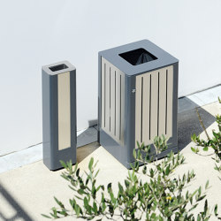 Fusion Bin & Ashtray | Waste baskets | Univers et Cité