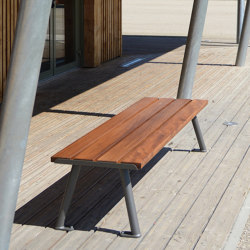 Oria Backless Bench | Benches | UNIVERS & CITÉ