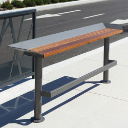 Oria sit / stand solution | Benches | Univers et Cité