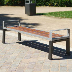 Zéo Backless Bench | Benches | UNIVERS & CITÉ