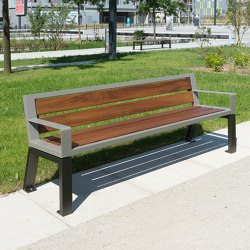 Zéo Bench | Benches | UNIVERS & CITÉ