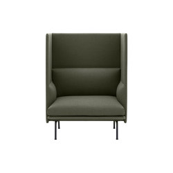 Outline Highback 1-Seater | Sillones | Muuto