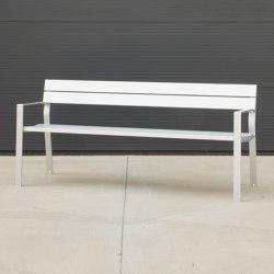 Harpo Aluminium Bench | Benches | urbidermis SANTA & COLE