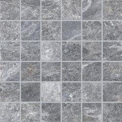 Brixen Stone Decori Grey Mosaico 5x5 | Ceramic mosaics | EMILGROUP