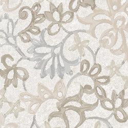 Heritage Decori Florita Deco IVORY | Ceramic tiles | EMILGROUP