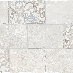 Heritage Decori Mosaico Major Florita Deco  IVORY | Ceramic mosaics | EMILGROUP