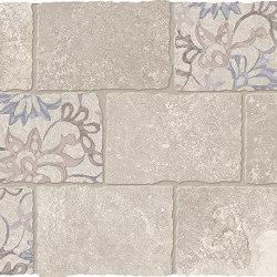 Heritage Decori Mosaico Major Florita Deco BEIGE | Mosaicos de cerámica | EMILGROUP