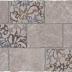 Heritage Decori Mosaico Major Florita Deco GREY | Ceramic mosaics | EMILGROUP