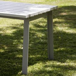 Harpo Aluminio Table | Dining tables | URBIDERMIS SANTA & COLE