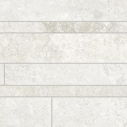 Heritage Listelli Sfalsati IVORY | Ceramic mosaics | EMILGROUP