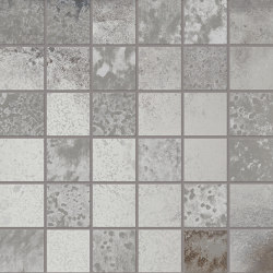 Narciso Mosaico 5x5 ARGENTO | Mosaicos de cerámica | EMILGROUP