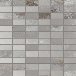 Narciso Mosaico 2,5x5 ARGENTO | Ceramic mosaics | EMILGROUP