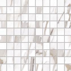 Tele di Marmo Reloaded Mosaico  CALACATTA GOLD CANOVA 3X3 | Ceramic mosaics | EMILGROUP