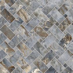 Tele di Marmo Revolution Decori Patagonia Intrecci | Ceramic mosaics | EMILGROUP