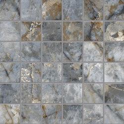 Tele di Marmo Revolution Decori Blu Ande Mosaico 5x5 | Mosaicos de cerámica | EMILGROUP