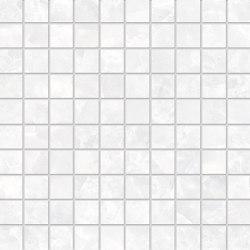 Tele di Marmo Revolution Decori Thassos Mosaico 3x3 | Ceramic mosaics | EMILGROUP