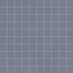 Totalook Mosaico 3x3 Blu Avio   Ceramic mosaics   EMILGROUP