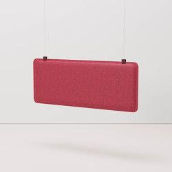 AK 3 Hanging Workplace Divider | Sound absorbing room divider | De Vorm