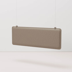 AK 4 Horizontal Hanging Panel | Sound absorbing suspended panels | De Vorm