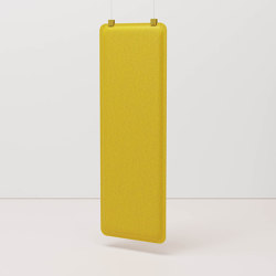 AK 4 Vertical Hanging Panel | Sound absorbing suspended panels | De Vorm