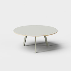 Big Lite Round 74 Modular Table System | Dining tables | De Vorm