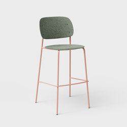 Hale PET Felt Bar Stool | Bar stools | De Vorm