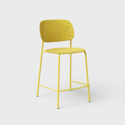 Hale PET Felt Counter Stool | Counter stools | De Vorm