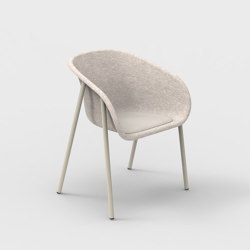 LJ 1 PET Felt Armchair Upholstered | Chairs | De Vorm
