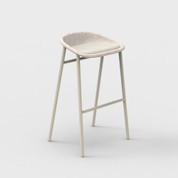 LJ 3 PET Felt Bar Stool Upholstered | Bar stools | De Vorm