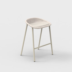 LJ 4 PET Felt Counter Stool Upholstered | Counter stools | De Vorm