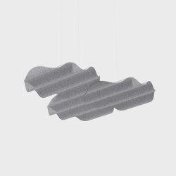 Onde Floating PET Felt Acoustic Panel | Sound absorbing objects | De Vorm