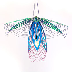 Custom designs - smaller Audrey2 | Suspended lights | Willowlamp