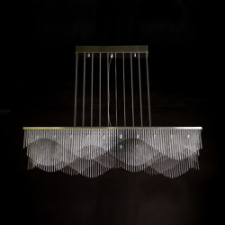 Streamwave - 1200mm - Suspended | Lámparas de suspensión | Willowlamp