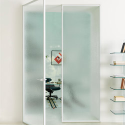 Aladin Double Swing Plain | Internal doors | Glas Italia