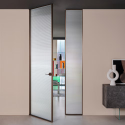 Sherazade Double Swing Plain | Internal doors | Glas Italia