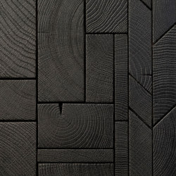 FORÊT MIX BLACK | Wood panels | Oscarono