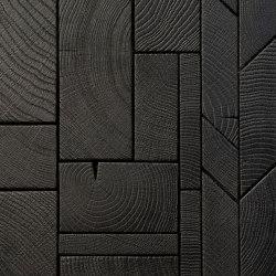 FORÊT MIX BLACK | Wood panels | Oscarono