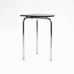 Piombino Alto Chrome | Standing tables | Atelier Haußmann