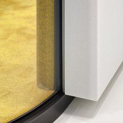 fecophon Metall | Schalldämpfende Wandsysteme | Feco