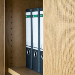 fecophon Holz | Schalldämpfende Wandsysteme | Feco
