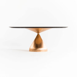 Drop casting bronze table | Dining tables | Time & Style