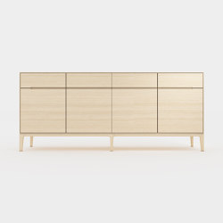 Horizontal composition cabinet | Credenze | Time & Style