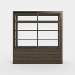 Museum cabinet for private collection | Vitrinen | Time & Style