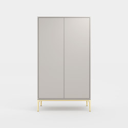 Pastel composition cabinet | Armoires | Time & Style