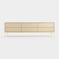 Wave composition cabinet | Credenze | Time & Style
