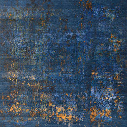 Blues at Night | Rugs | Knotique