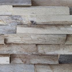 Mosaikholz Treibholz Eiche | Holz Mosaike | StoneslikeStones