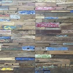 Mosaikholz TeakHavanna | Holz Mosaike | StoneslikeStones