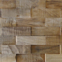 Mosaikholz TeakLane | Holz Mosaike | StoneslikeStones