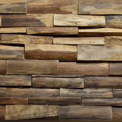 Mosaik wood second life TeakCuracao | Mosaicos de madera | StoneslikeStones